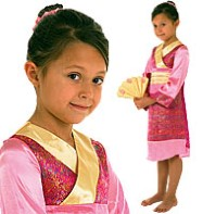 Oriental Princess - Child Costume Fancy Dress