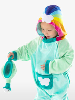 Cloudbabies Baba Green - Baby and Toddler Costume Fancy Dress