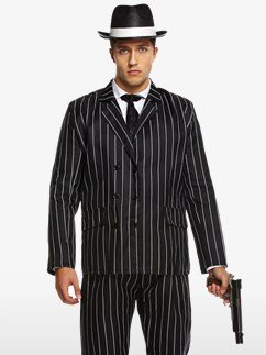 Gangster Value Suit - Adult Costume Fancy Dress