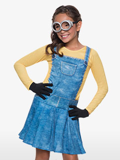 Minion Girl - Child Costume Fancy Dress