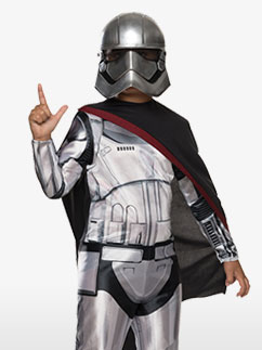 Classic Captain Phasma - Child Costume Fancy Dress