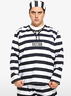 Prisoner XL - Adult Costumes Fancy Dress