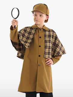 Victorian Detective - Child Costume Fancy Dress