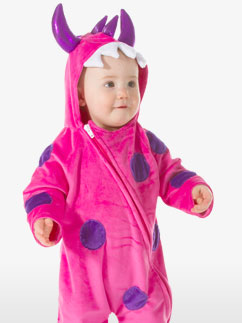 Little Monster Pink - Baby Costume Fancy Dress