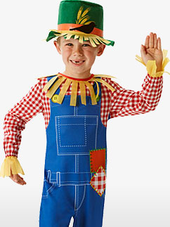 Mr. Scarecrow - Child Costume Fancy Dress