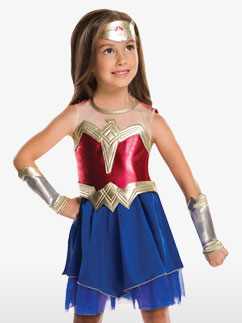 Wonder Woman - Child Costume Fancy Dress