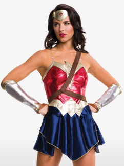 Wonder Woman - Adult Costume Fancy Dress
