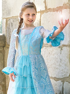 Azure Mist - Child Costume