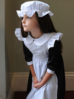 Millie Maid - Child Costume Fancy Dress