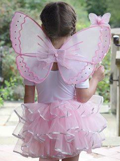 Candy Floss Fairy Set - Child Costume Fancy Dress
