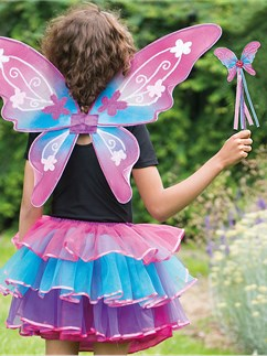 Iris Fairy Set - Child Costume Fancy Dress