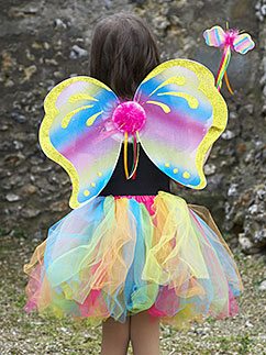Rainbow Fairy Set - Child Costume Fancy Dress