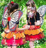 Red Admiral Fairy Set - Child Costume