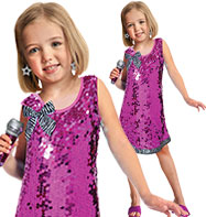 Pop Star - Child Costume Fancy Dress