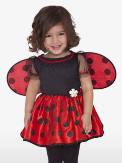 Little Ladybug - Toddler Costume Fancy Dress