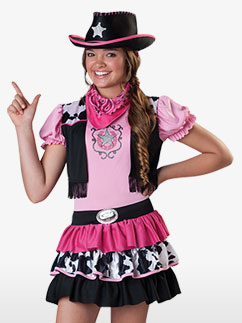 Giddy Up Girl - Child Costume Fancy Dress