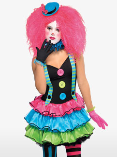 Kool Klown - Child and Teen Costume Fancy Dress