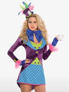 Mad Hatter - Adult Costume Fancy Dress