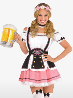 Oktobermiss - Adult Costume Fancy Dress