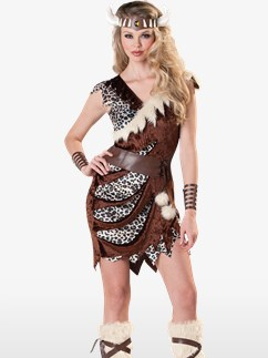 Barbarian Babe - Adult Costume