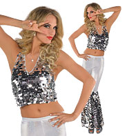 Disco Diva - Adult Costume Fancy Dress