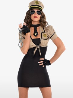 Shakedown Sheriff - Adult Costume Fancy Dress