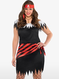 Ahoy Katie Plus Size - Adult Costume Fancy Dress