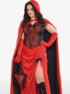 Riding Hood Enchantress Plus Size - Adult Costume