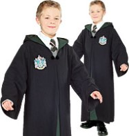 Slytherin Robe Deluxe - Child Costume Fancy Dress