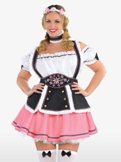 Oktobermiss Plus Size - Adult Costume Fancy Dress