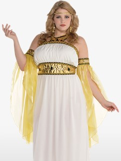 Devine Goddess Plus Size - Adult Costume Fancy Dress