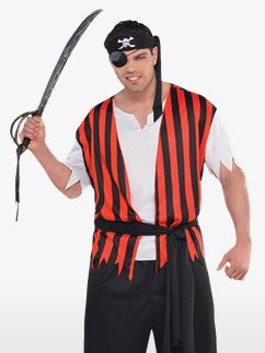 Ahoy Matey Plus Size - Adult Costume  Fancy Dress