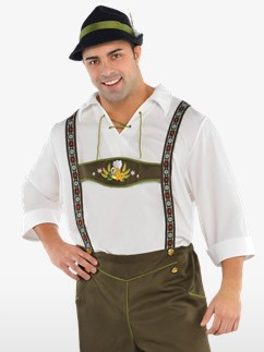Mr. Oktoberfest Plus Size - Adult Costume Fancy Dress