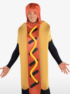 Hot Diggety Dog - Adult Costume Fancy Dress