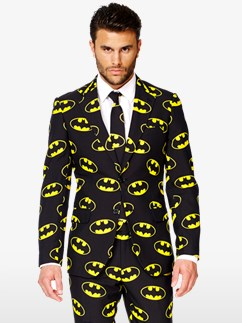 Batman Suit - Adult Costume Fancy Dress
