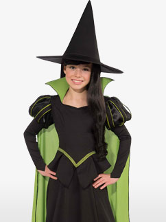 Wicked Witch of the West - Child Costume Fancy Dress