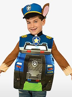 Paw Patrol Chase - Toddler and Child Costume Fancy Dress