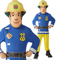 Fireman Sam Classic - Toddler and Child Costume