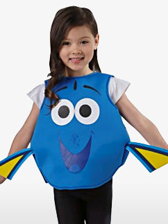 Dory Tabard - Toddler and Child Costume Fancy Dress