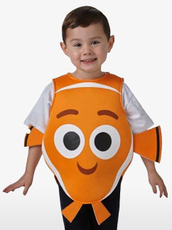 Nemo Tabard - Toddler and Child Costume Fancy Dress