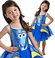 Dory Tutu Dress - Toddler and Child Costume