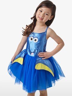 Dory Tutu Dress - Toddler and Child Costume Fancy Dress