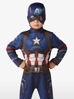 Captain America Classic - Child Costume Fancy Dress