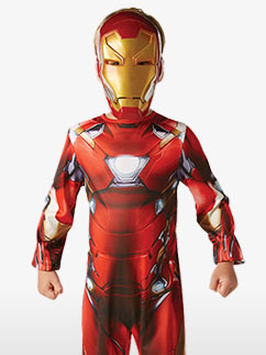 Iron Man Classic - Child Costume Fancy Dress