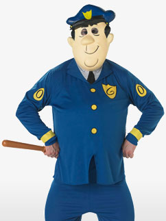 Officer Dibble - Adult Costume Fancy Dress