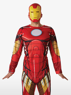 Iron Man - Adult Costume Fancy Dress