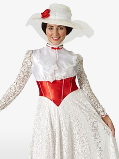 Mary Poppins Jolly Holiday - Adult Costume