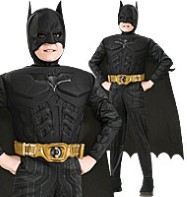 Batman Deluxe Dark Knight Rises - Child Costume Fancy Dress