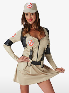 Ghostbusters Lady - Adult Costume