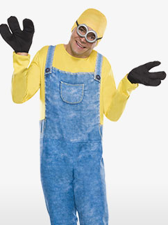 Minion Bob - Adult Costume Fancy Dress